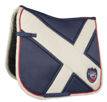 HKM PRO TEAM COUNTY  SADDLE PAD -NAVY  - RRP £36.99